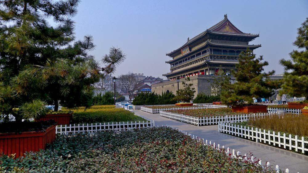 行上海双飞西安.住西安维也纳酒店.品特色美地方美食介绍500作文字图片