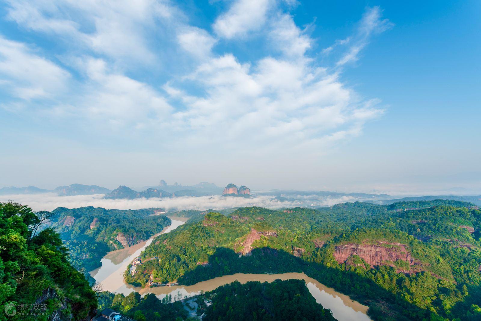 是广东省面积最大,景色最美的,以丹霞地貌景观为主的风景区和自然