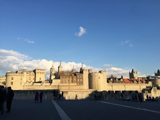 英国著伦敦塔桥