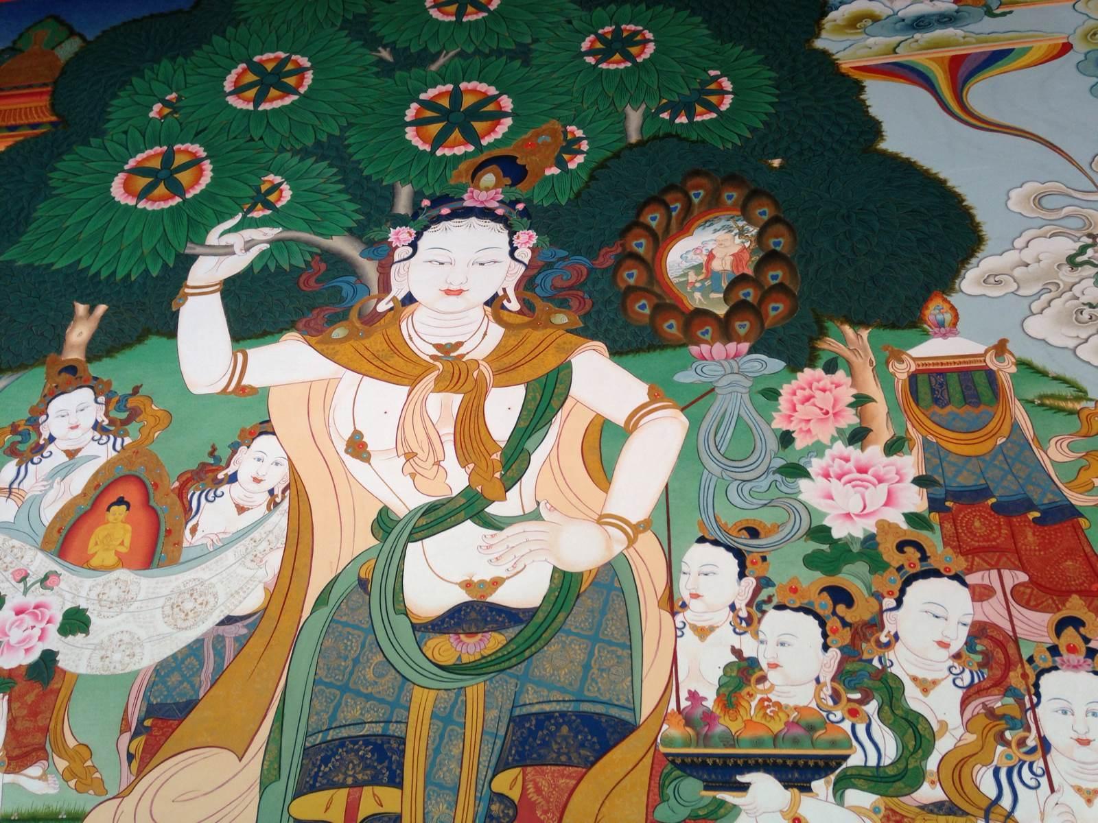塔尔寺三绝之三:壁画