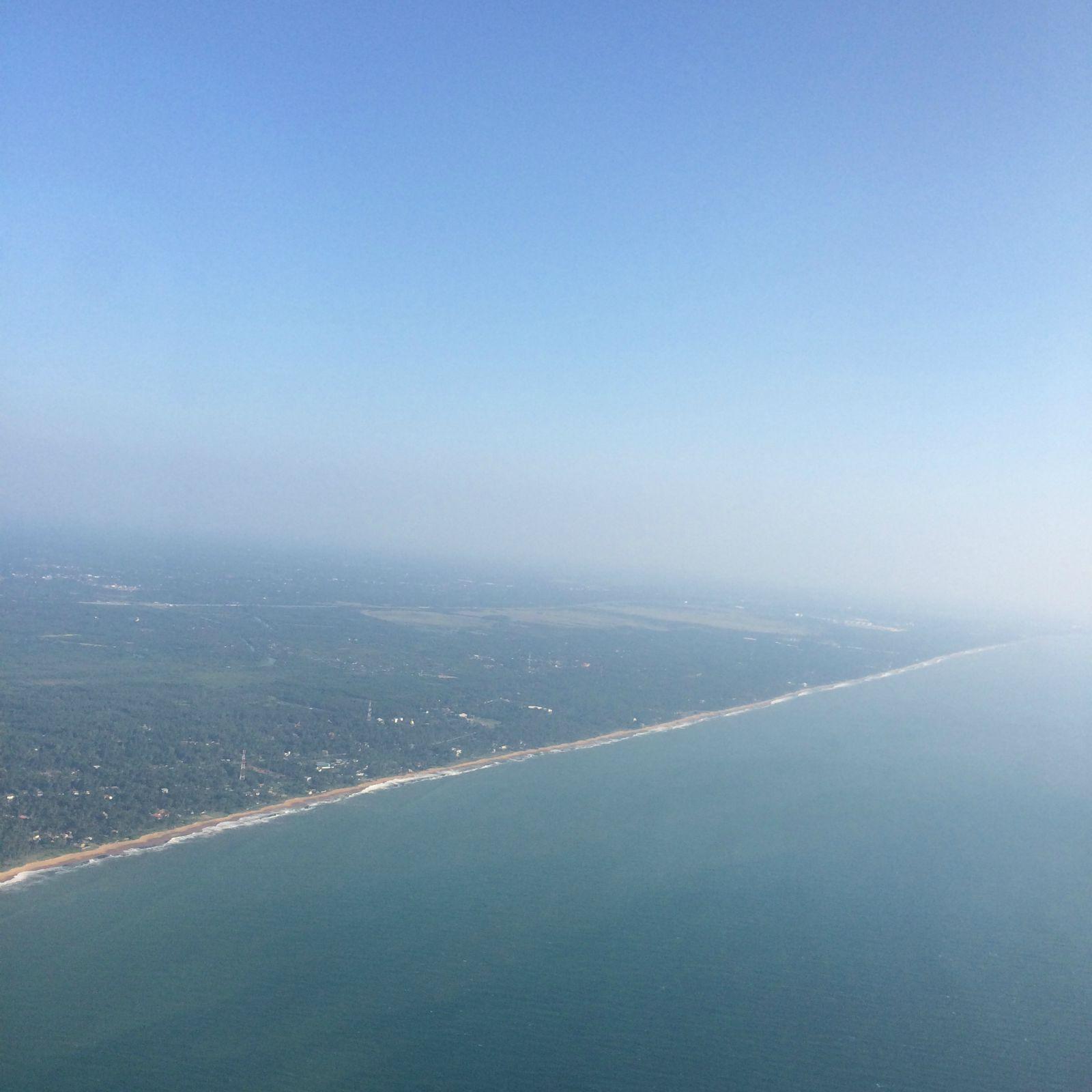 斯里兰卡航空飞机上