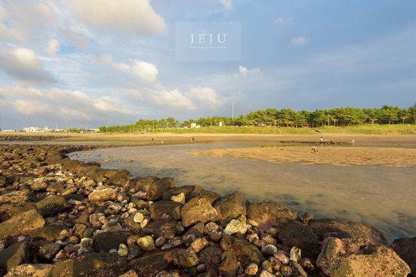 济州岛梨湖海水浴场