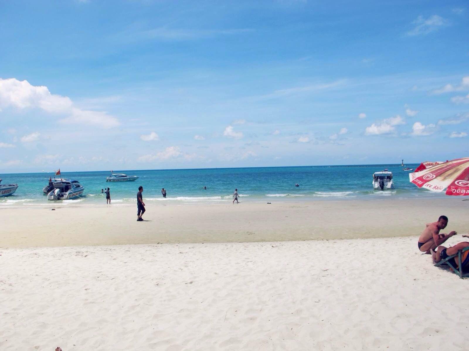 沙美岛 离开,总是依依不舍的,真想在海边呆足一个月,有种感觉叫面朝