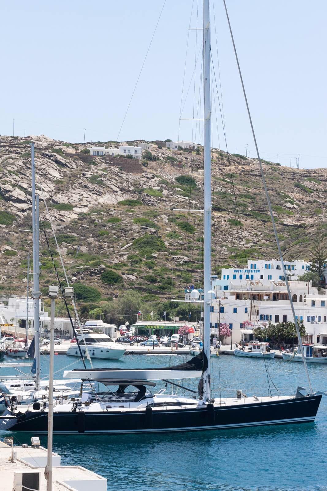 告别圣托里尼之后,我们即将前往爱琴海上的另一颗明珠——米克诺斯岛.