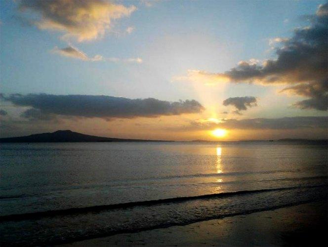 塔卡普纳海滩  Takapuna Beach   -4