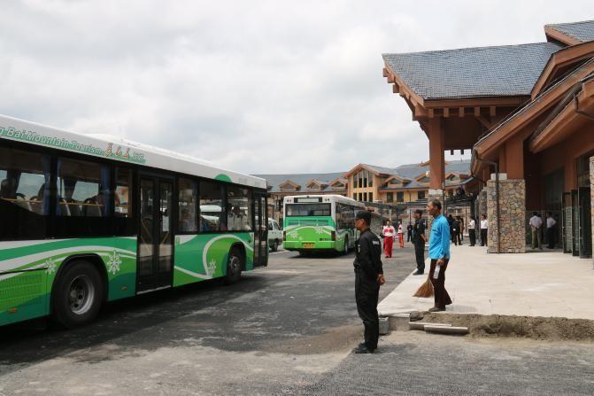 长白山旅游集散服务中心游记