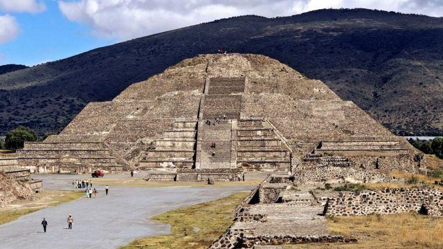 店接送】墨西哥城金字塔