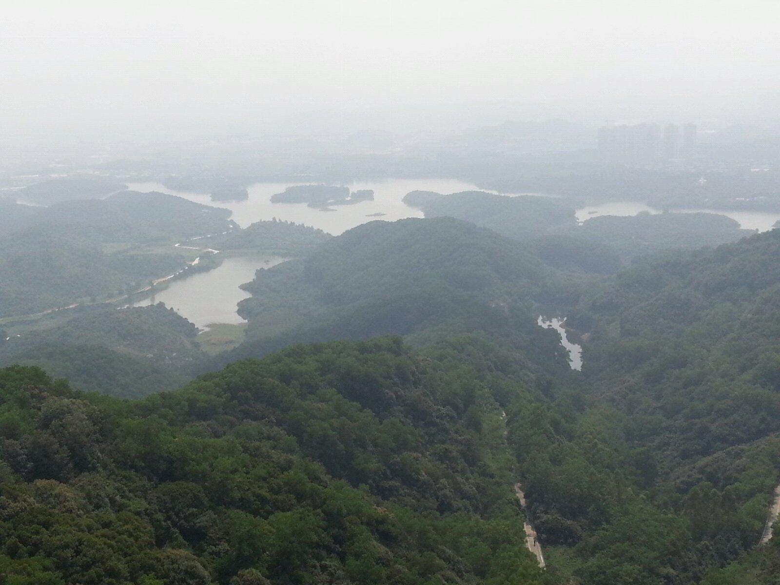 东莞大屏嶂森林公园
