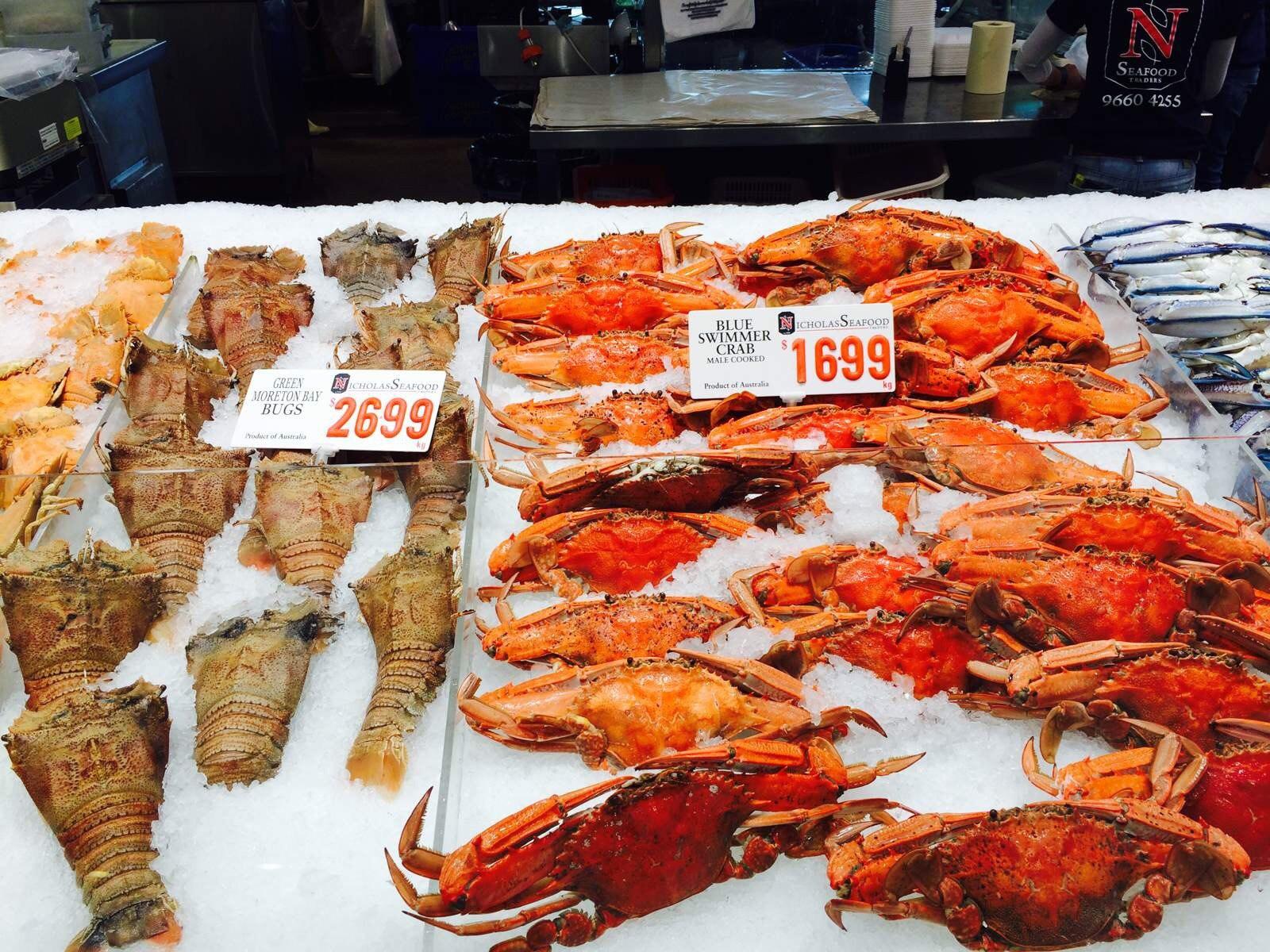 来到【悉尼】,一定要到【海鲜市场】品尝当地最新鲜,最美味,最让人