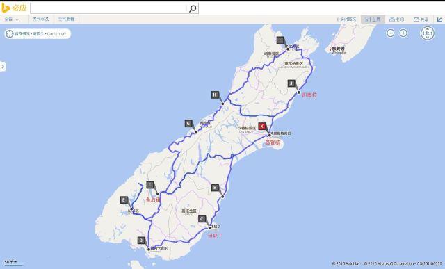 旅游地图贵州手画