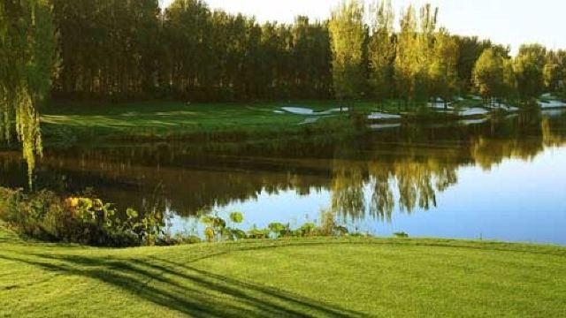 合理的使用和平的绿色植物和为我们的高尔夫选手创造内部能量和宁静.