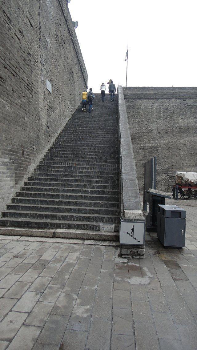 然后去了西安古城墙