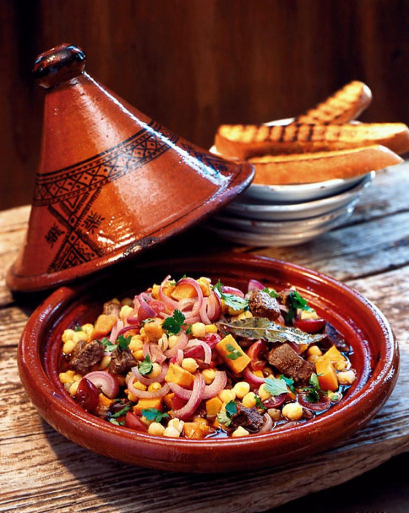 tajine是摩洛哥的特色民间菜