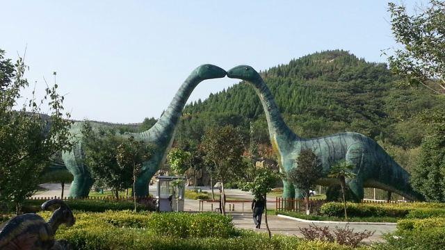青龙山恐龙蛋化石群国家地质公园图片