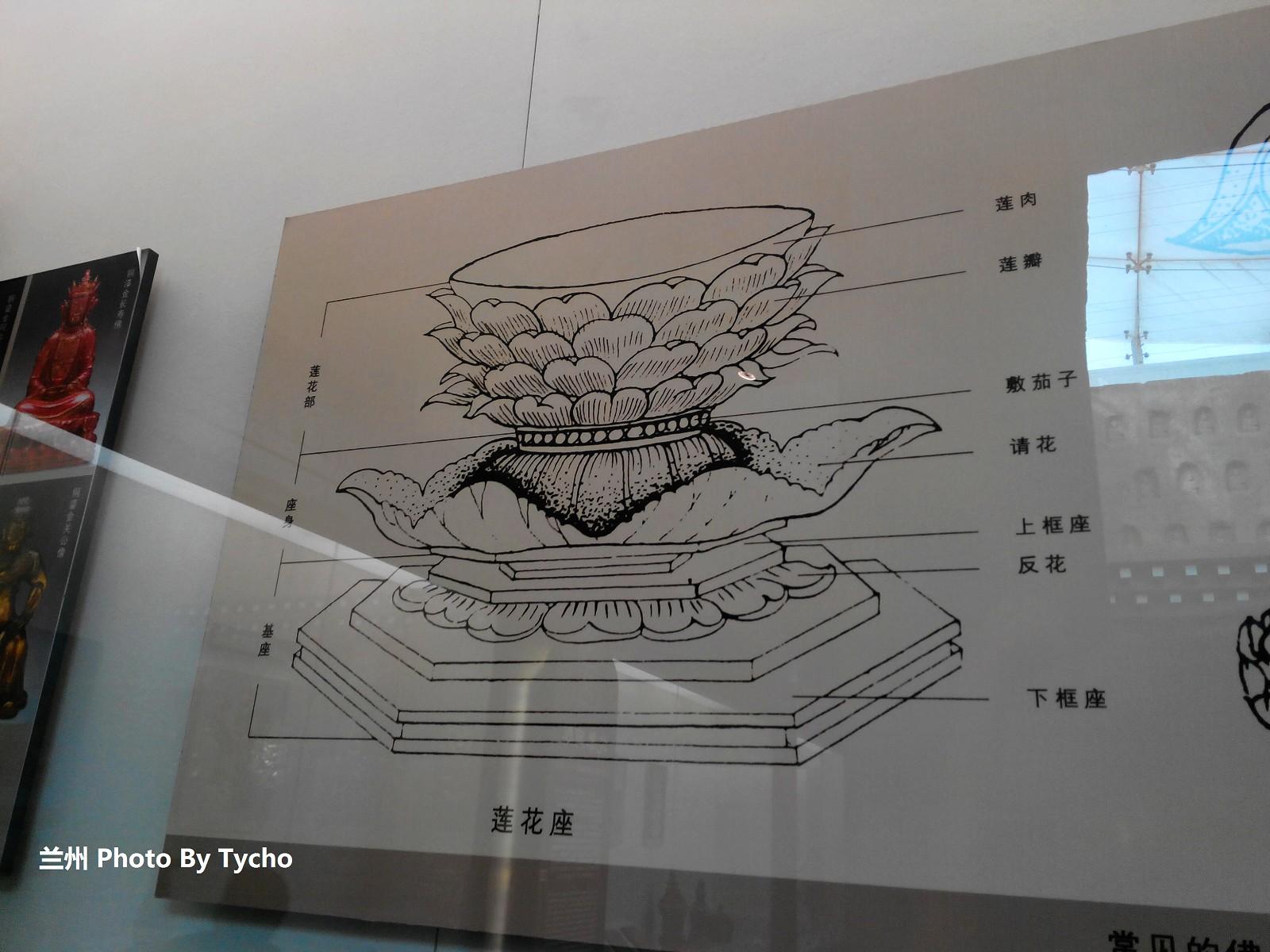 科普莲花座结构图