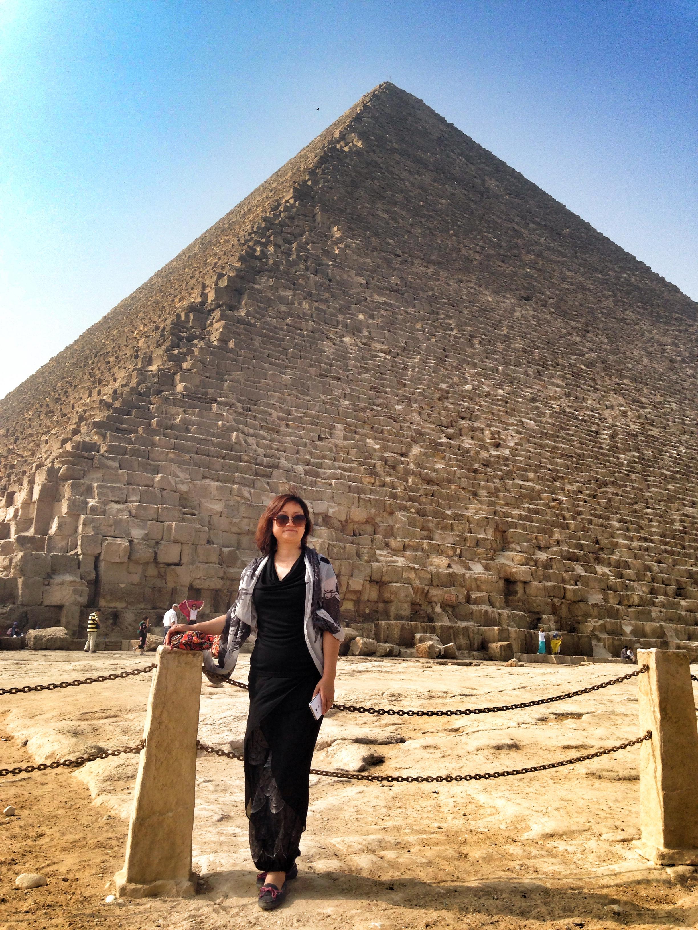 埃及金字塔高清手机壁纸