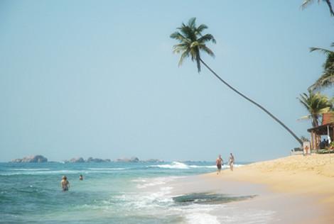 希克杜沃海滩  Hikkaduwa Beach   -1
