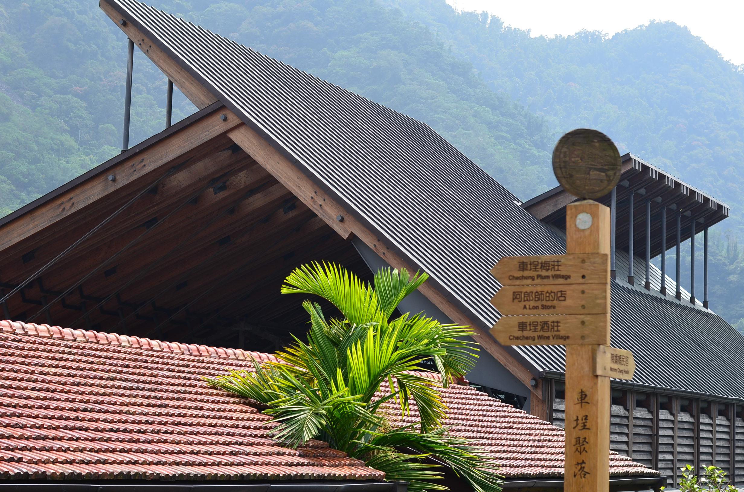 筷子制作古建筑屋顶模型