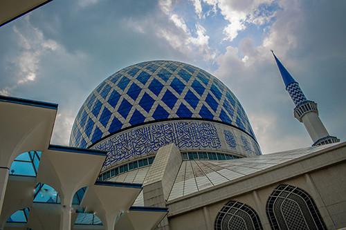 亚洲 马来西亚 雪兰莪州 莎阿南市 雪兰莪州立清真寺 - 西部落叶 - 《西部落叶》· 余文博客