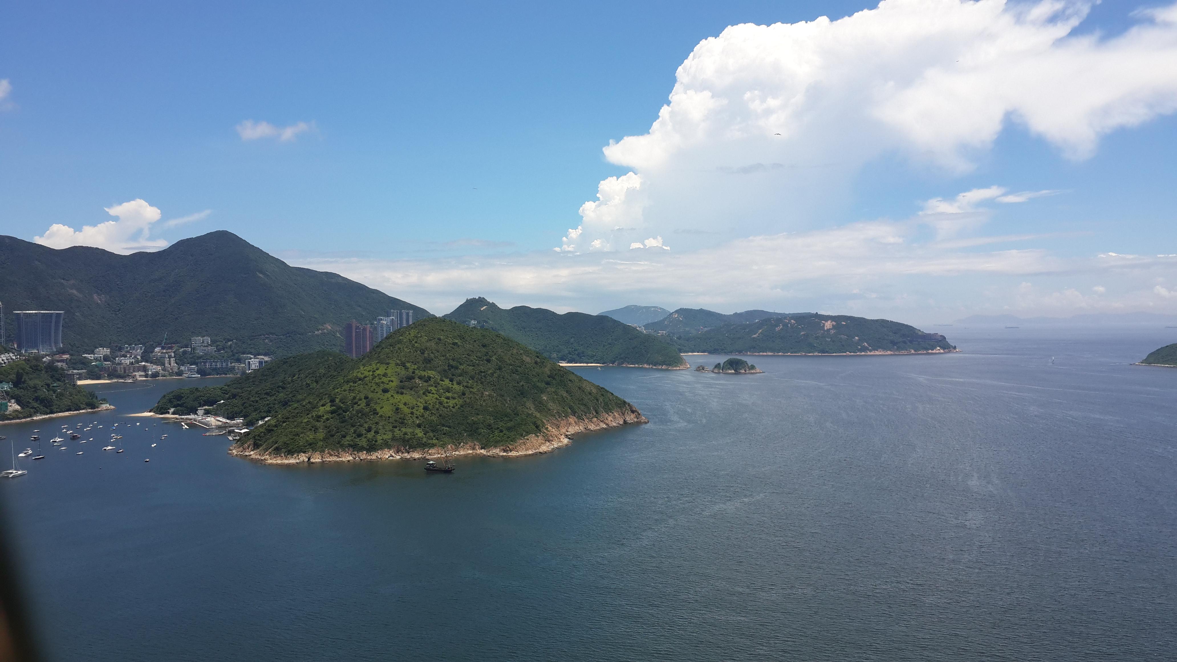 香港海风景壁纸