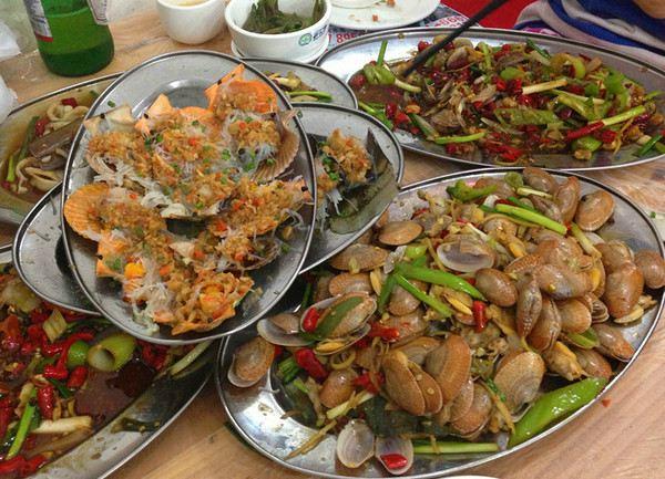 三亚吃海鲜的节奏