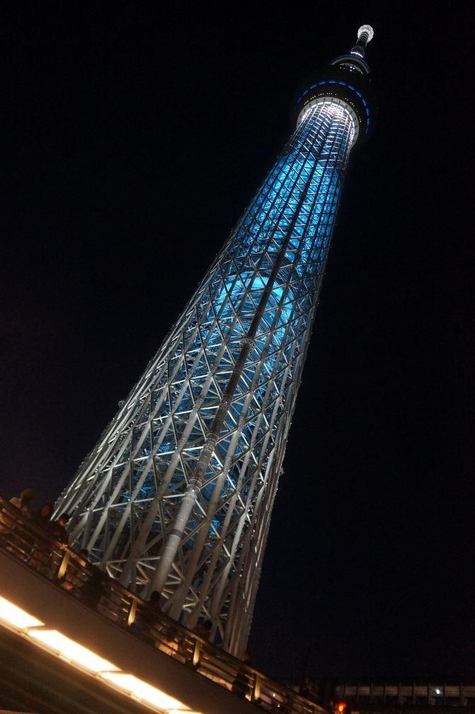银座与晴空塔