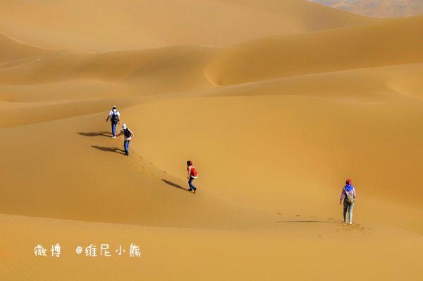 新疆徒步库木塔格沙漠新体验