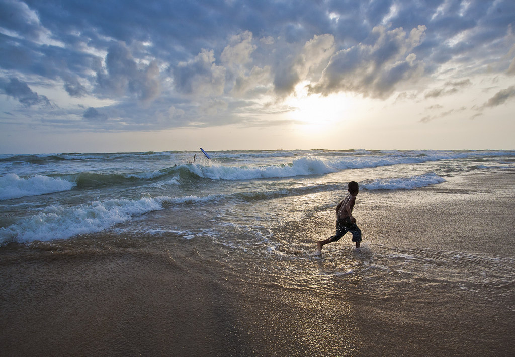 希克杜沃海滩  Hikkaduwa Beach   -2