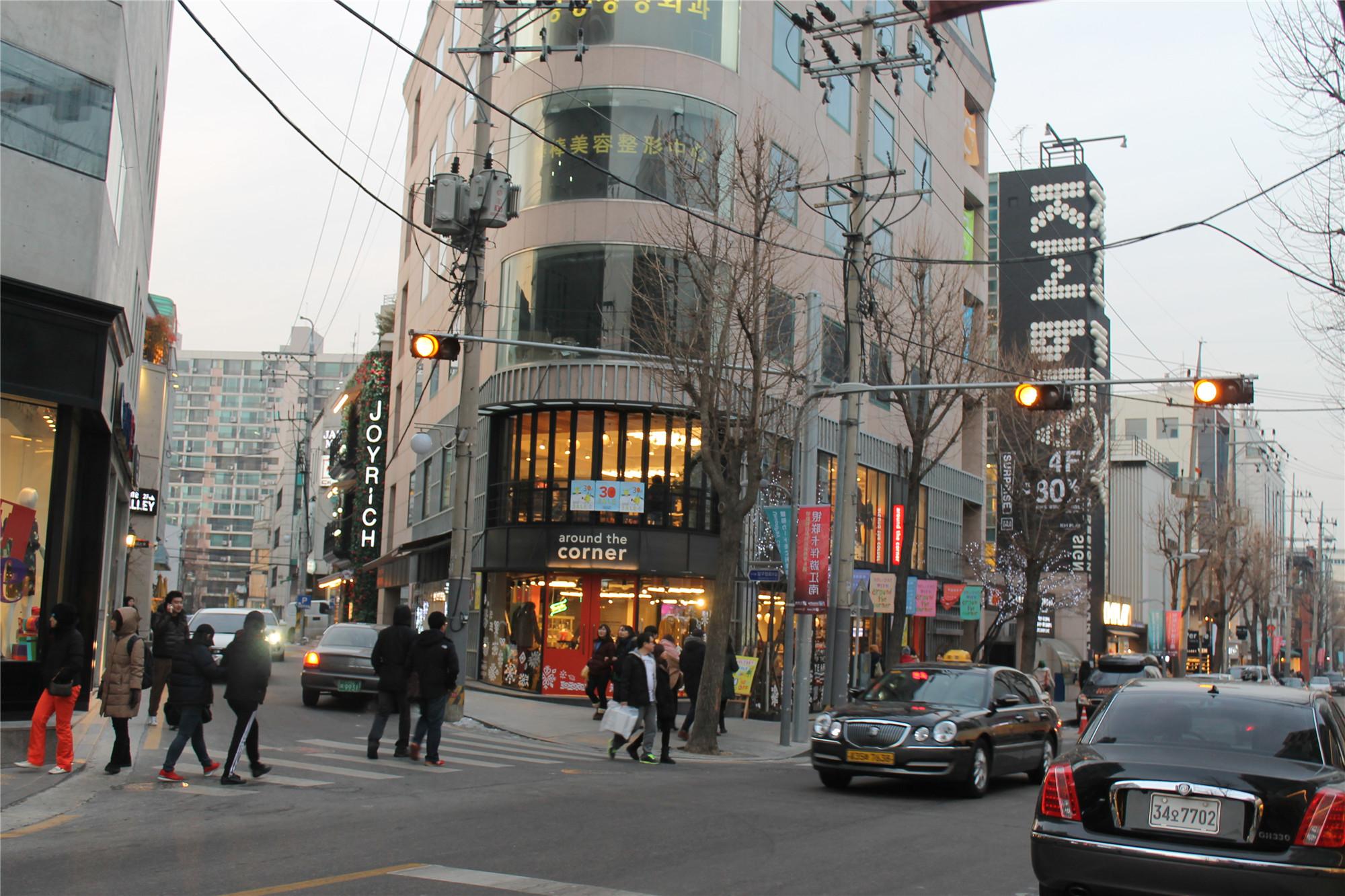 1920x1080韩国首尔风景街道
