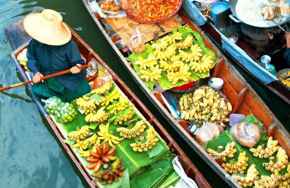 曼谷安帕瓦水上集市+美功鐵道市場+遊船賞螢一日遊