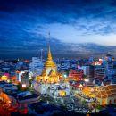坐電車環遊古城 | 曼谷城市古迹夜遊(可選泰式風味晚餐)