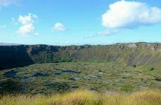 拉诺廓火山-复活节岛-乖小咪