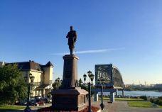 Mikhail Zuyev Statue-新西伯利亚-珊珊Z