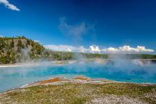 木丝间歇喷泉-黄石国家公园-尊敬的会员