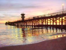 Seal Beach Pier-橙县