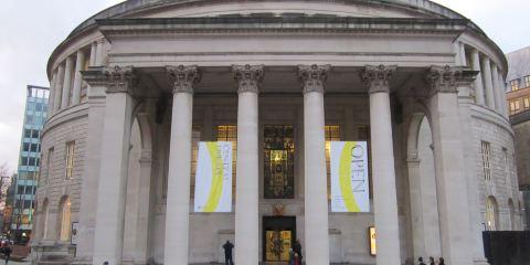曼徹斯特中央圖書館