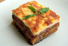 雅典美食图片-穆萨卡