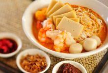 新加坡美食图片-叻沙