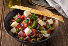 雅典美食图片-希腊沙拉