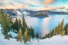 火山湖国家公园-波特兰-doris圈圈