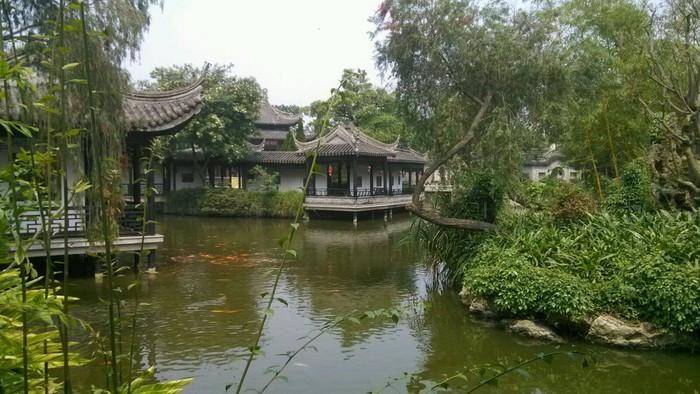 本来只是去中山游玩,竟然让我遇到城市中的丽江