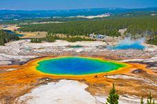 大棱镜温泉-黄石国家公园-doris圈圈