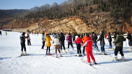 嵩山滑雪场  (3)