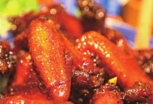 福鼎美食图片-蜜汁鸡翅