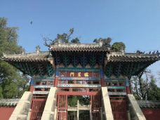 孟府孟庙景区-邹城-轻快的行走脚步