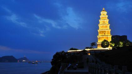 交运长江夜游-天然塔1