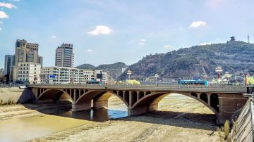 陜西延安延河大橋-05626