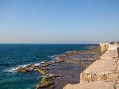以色列凯撒利亚+海法+巴哈伊花园+阿克古城一日游