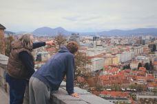 卢布尔雅那城堡-卢布尔雅那-长腿学姐
