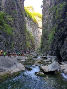 太行山大峡谷-壶关-趴在墙头